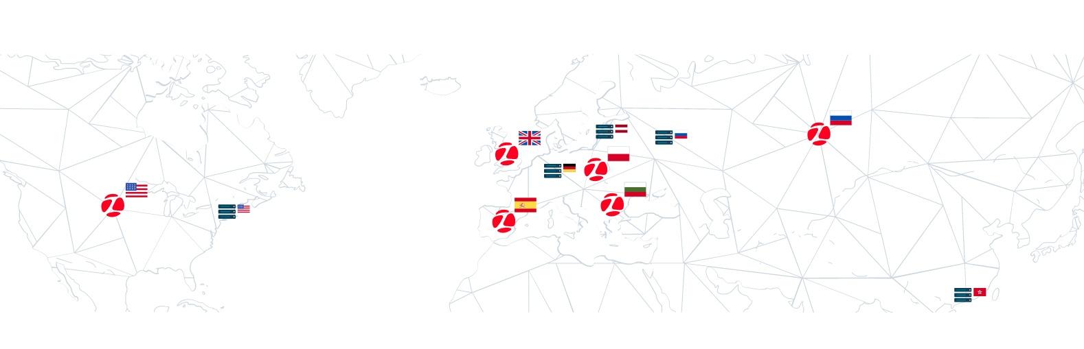 Zadarma работает по всему миру